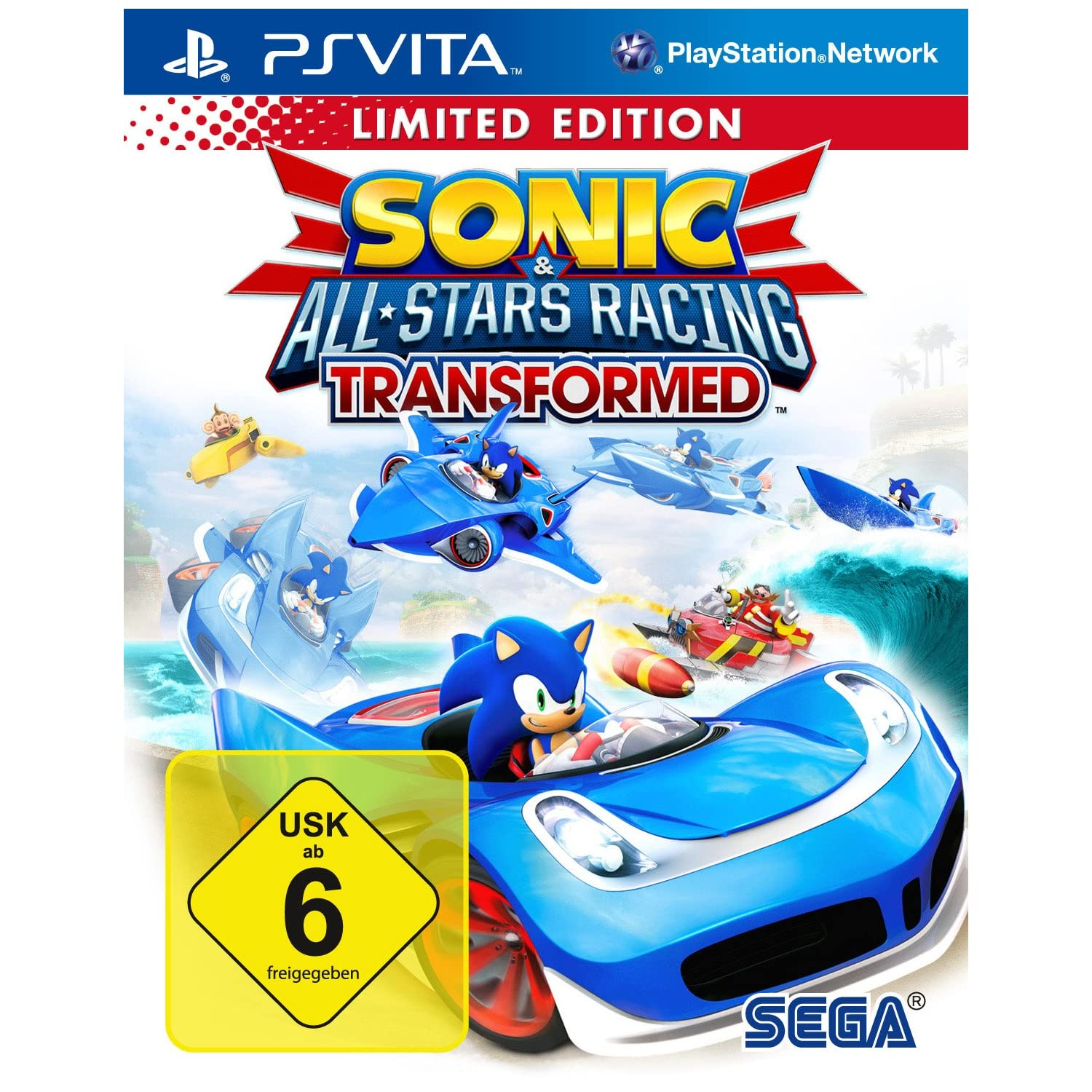 product photo for Sonic & SEGA All-Stars Racing Transformed