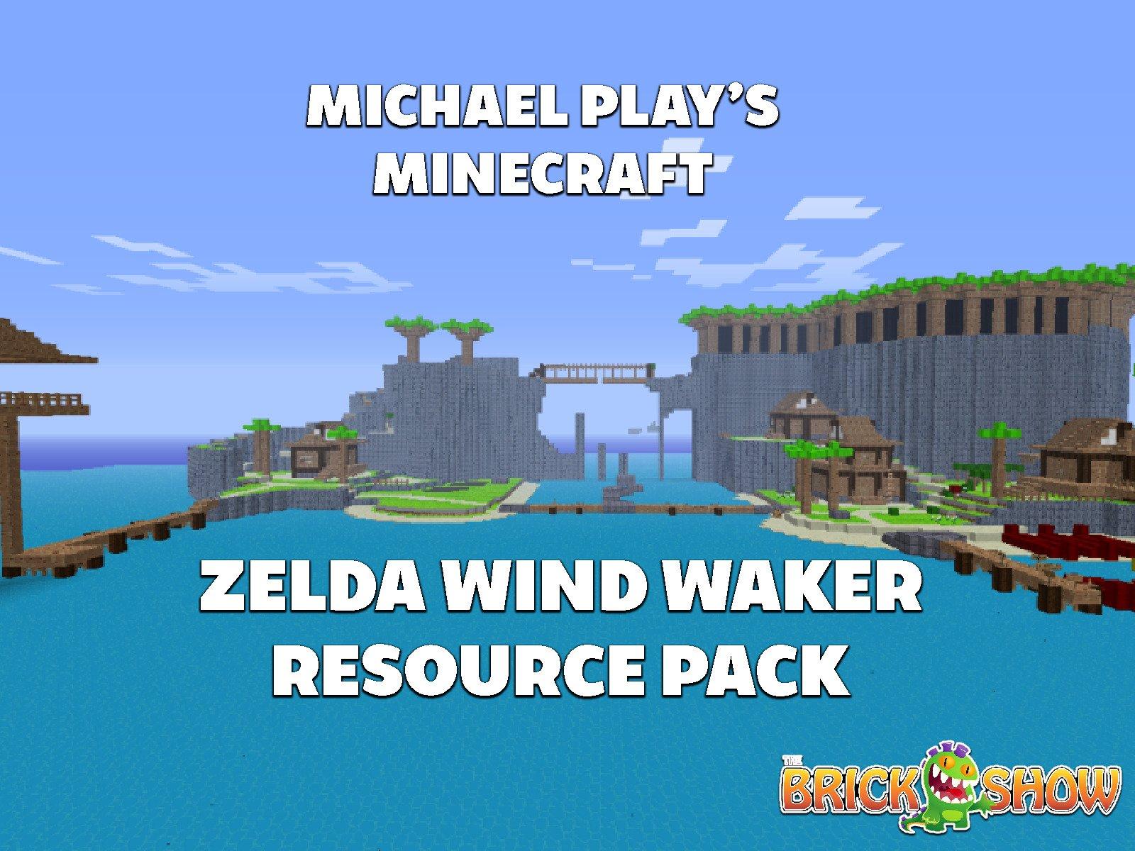 Clip: Michael Play's Minecraft Zelda Wind Waker Resource Pack