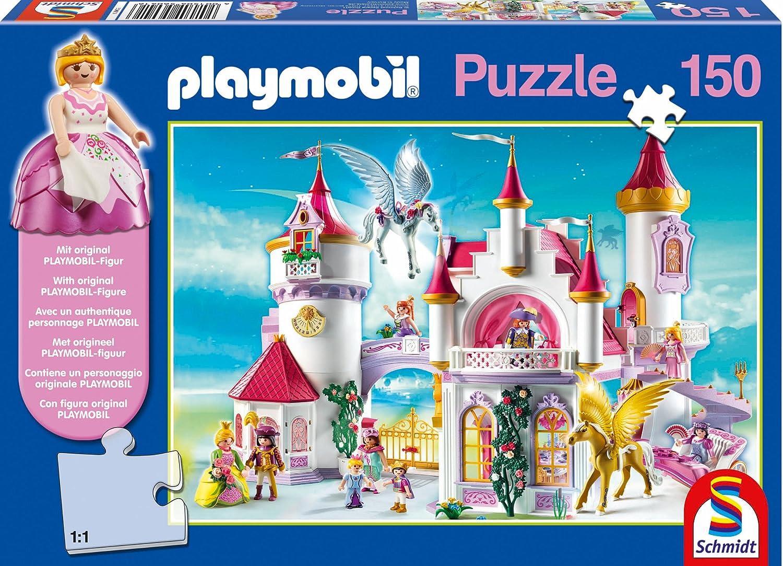Schmidt Spiele 56041 – Playmobil, Im Prinzessinnenschloss mit Original Figur, 150 Teile jetzt bestellen