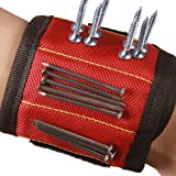 Strong Magnetic Wristband with Breathable Material for Holding Tools Embedded with Super Powerful Magnets CTD01 (1 Pack) (Color: 1 Pack)