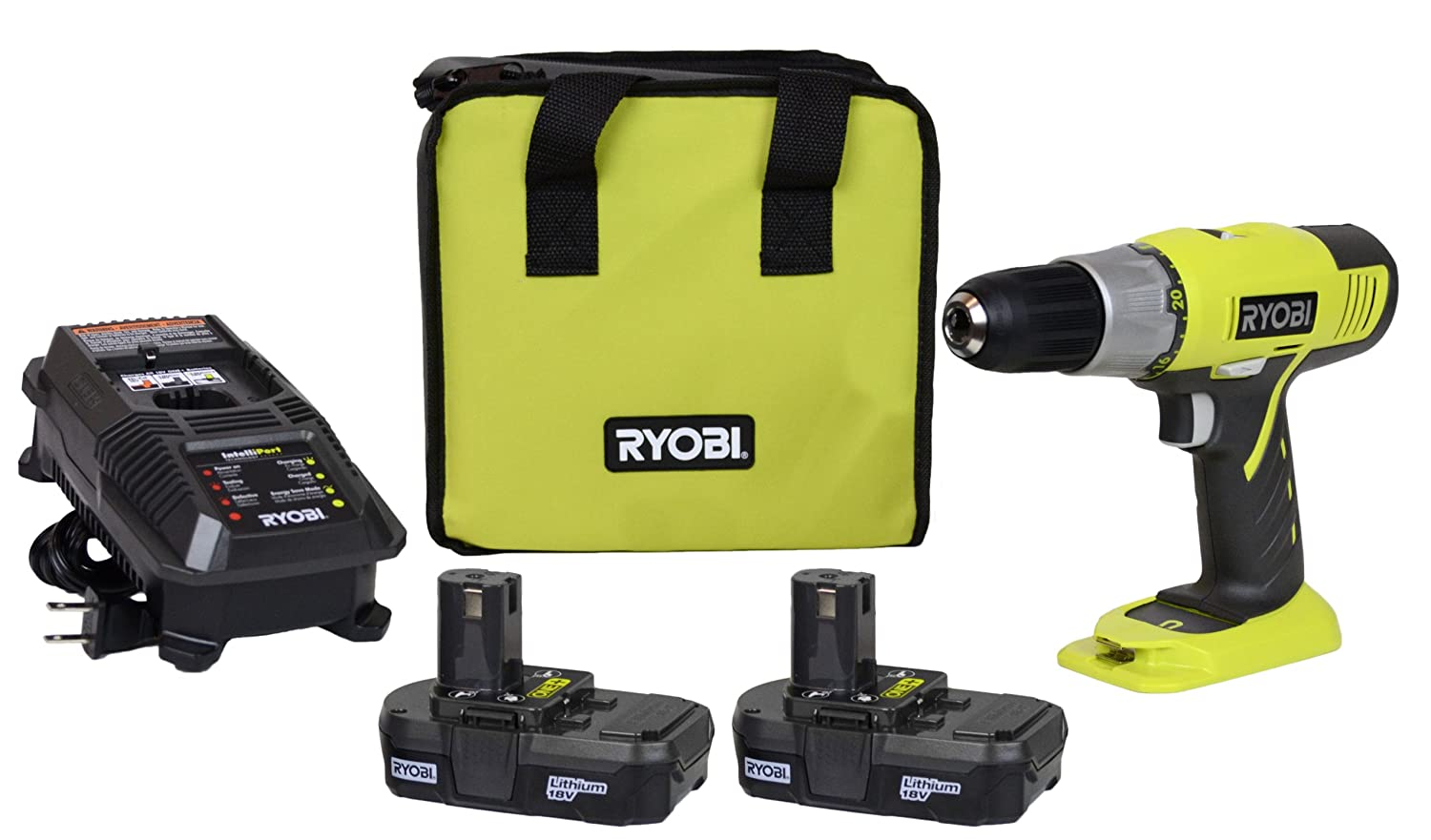 Ryobi P817 (A Drill with Great Specs)