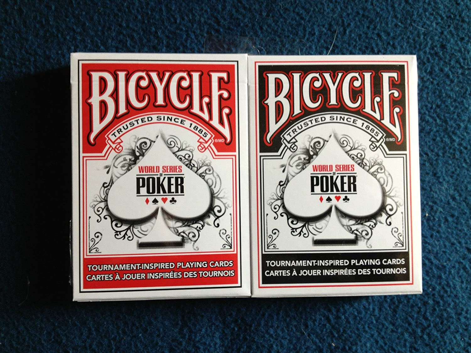 Bicycle World Series of Poker Playing Cards (2-Pack) a dream of red mansions series poker card