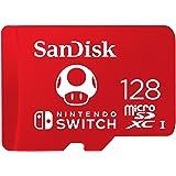 SanDisk 128GB MicroSDXC UHS-I Card for Nintendo Switch -SDSQXAO-128G-GNCZN (Tamaño: 128GB)