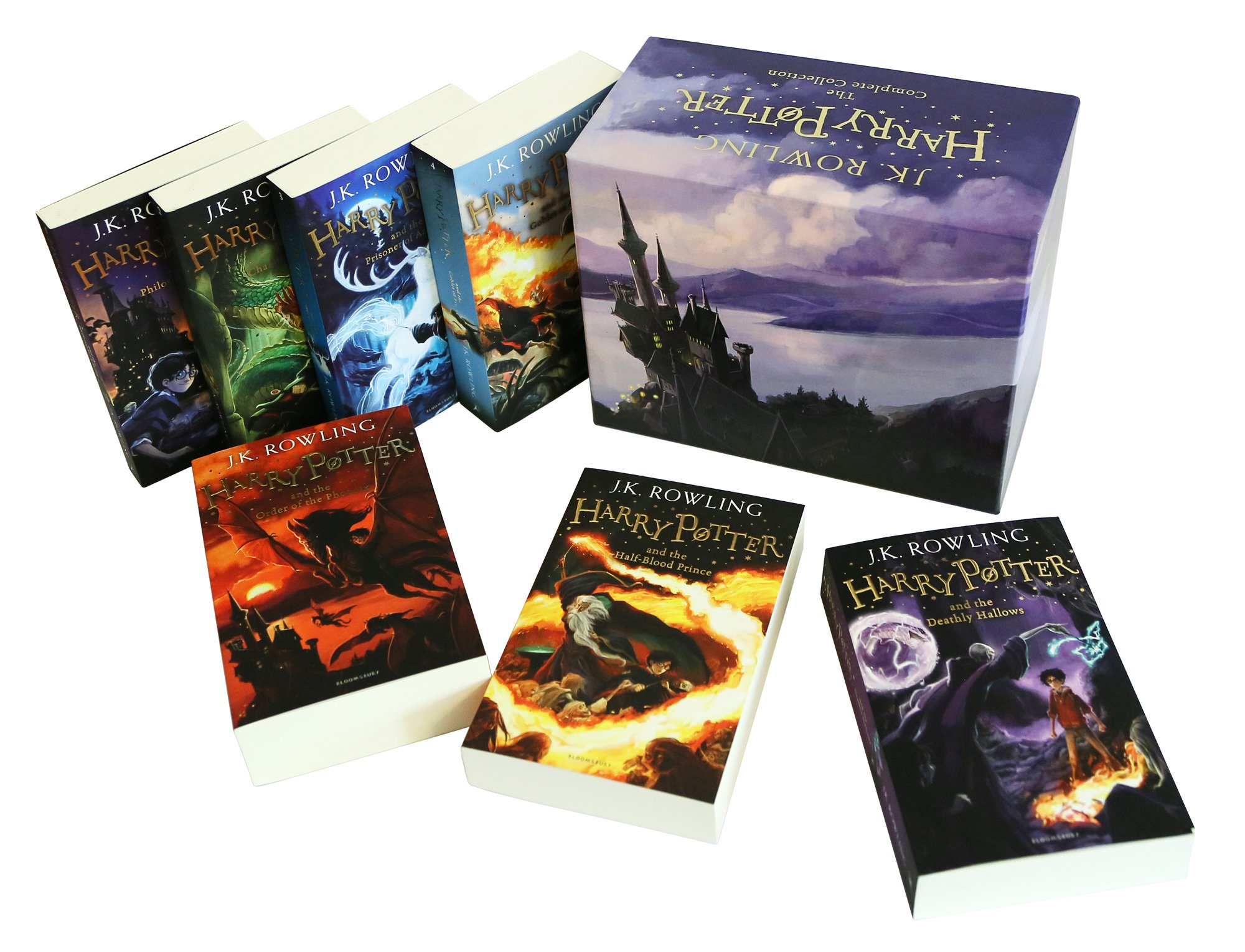 Harry Potter Book Gift Set : The complete harry potter boxed gift collection j k