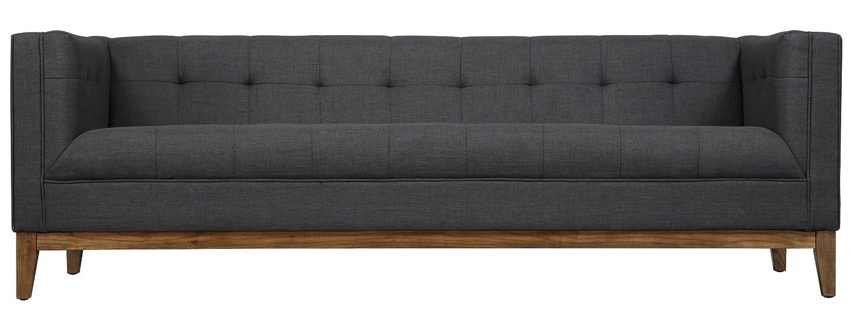 TOV Furniture Gavin Linen Sofa - Grey