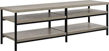 "Altra Furniture Elmwood 60"" TV Stand in Medium Oak Finish, Sonoma Oak"