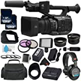 Panasonic AG-UX90 4K/HD Professional Camcorder All You Need Bundle (International Model) (Tamaño: Combo)