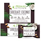 Primal Kitchen Chocolate Coconut Protein Bar, Keto Certified, 8G of Protein (Tamaño: 12 Bars)