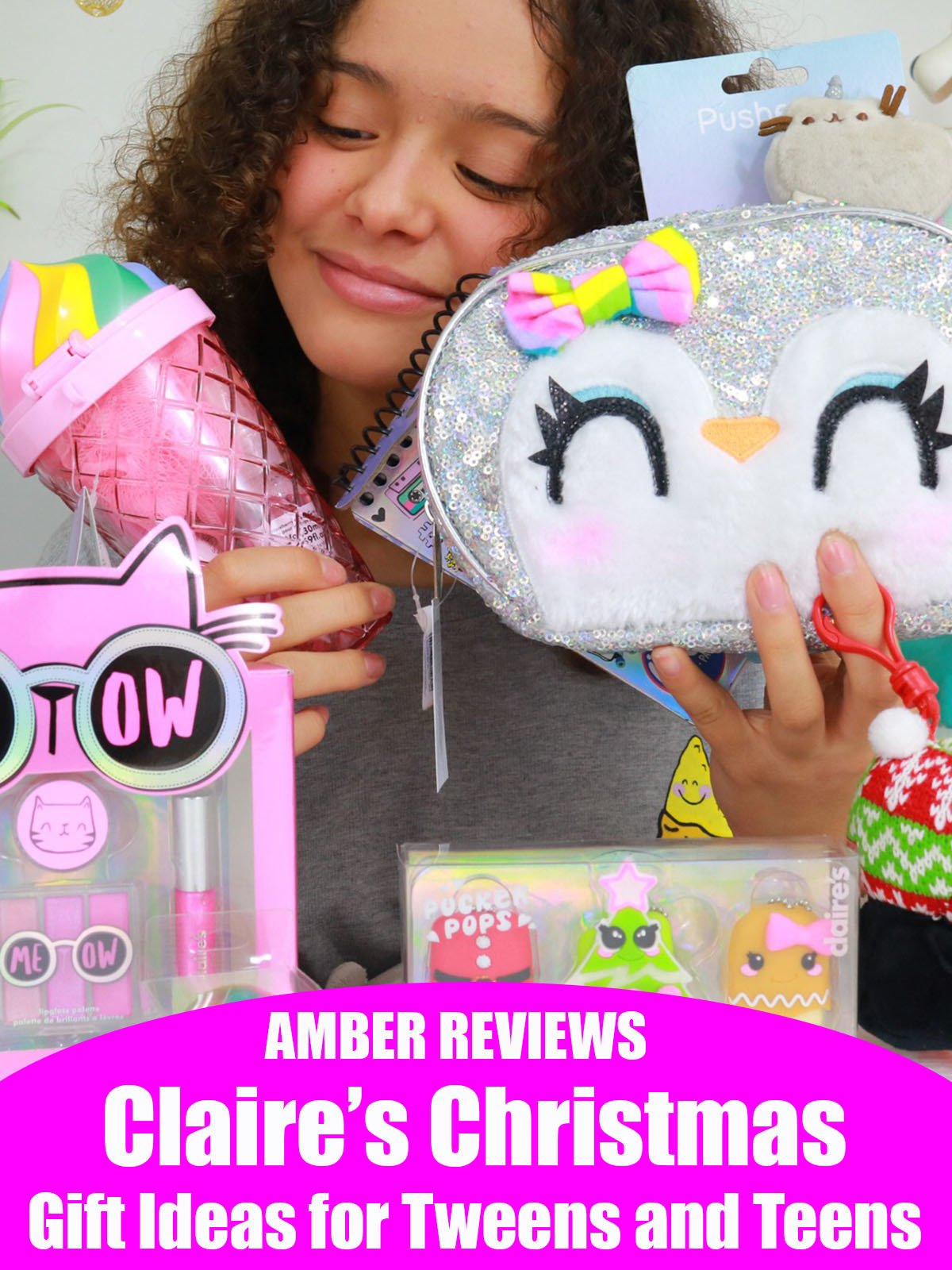 Amber Reviews Claire's Christmas Gift Ideas for Tweens and Teens