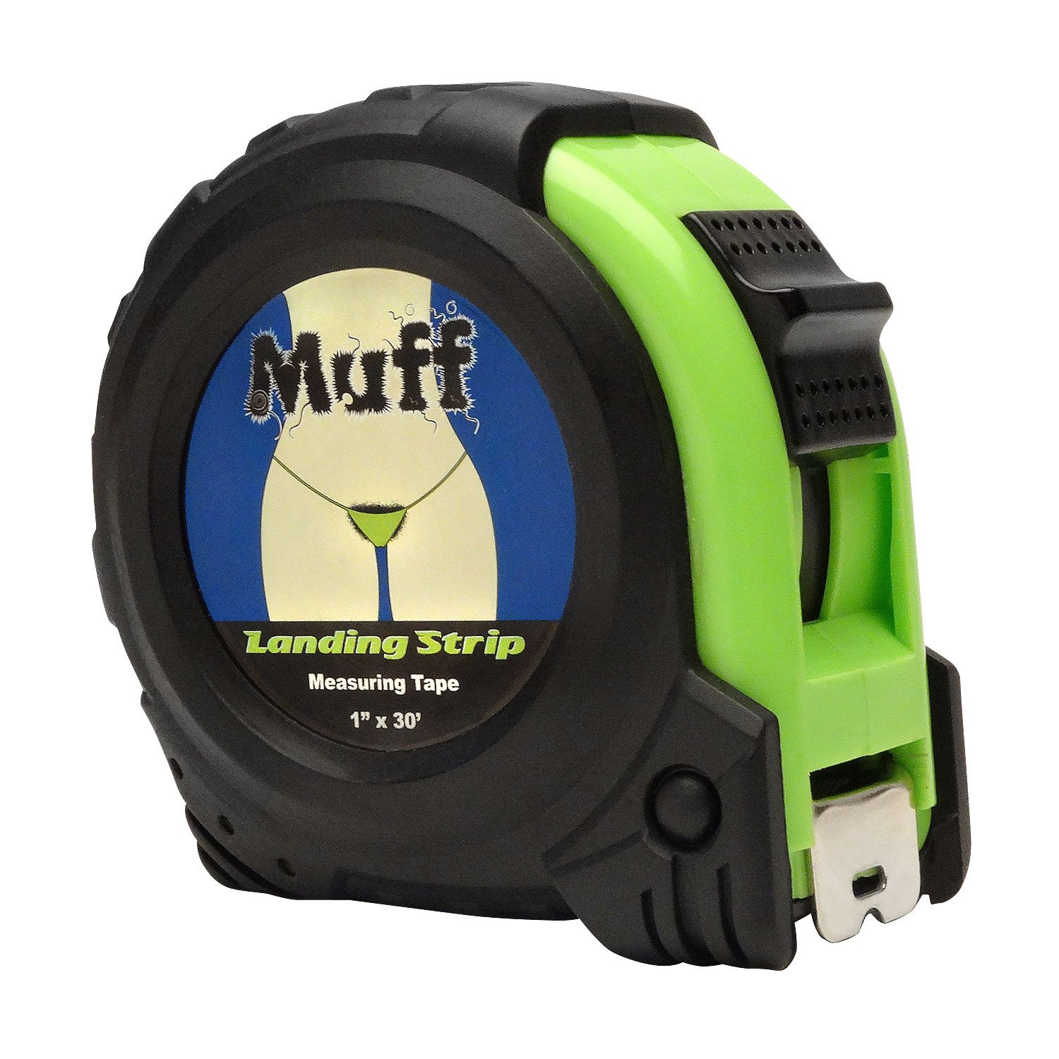 Muff Landing Strip Hair Tape Measure