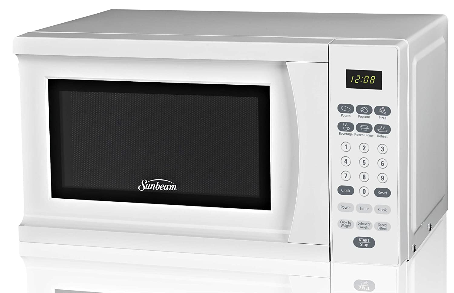 Sunbeam SGS90701W-B 0.7-Cubic Foot Microwave Oven, White