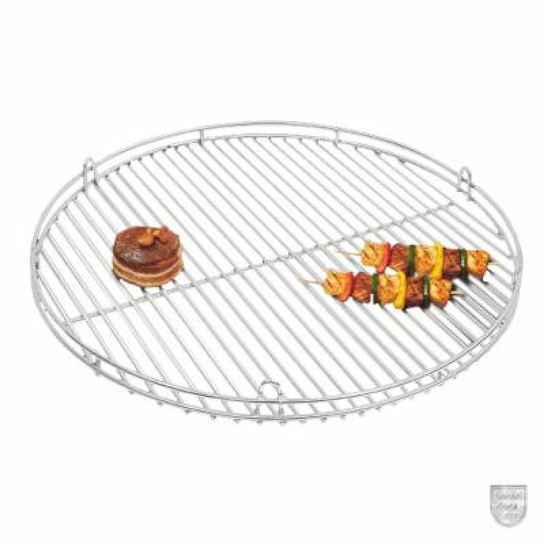 Schneider Grillrost aus Edelstahl mit Reling und Aufhängeösen Ø 80 cm jetzt bestellen