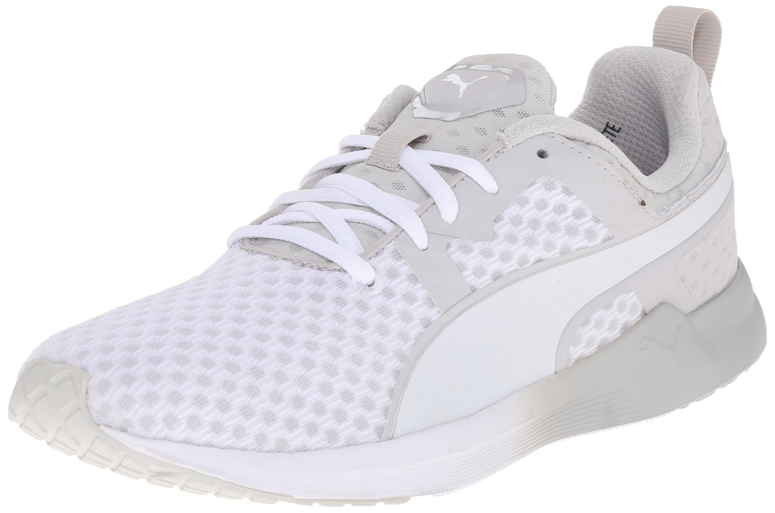 PUMA Women's Pulse XT Core Running Sneaker, White Gray Violet, 7.5 B US