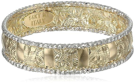 14k-Italian-White-Gold-Embossed-Band-Ring