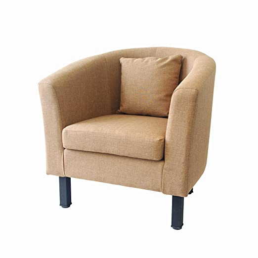 Sillón Televisión de Lounge Sillón individual sofá relax sofá Cóctel Sillón S601Moca