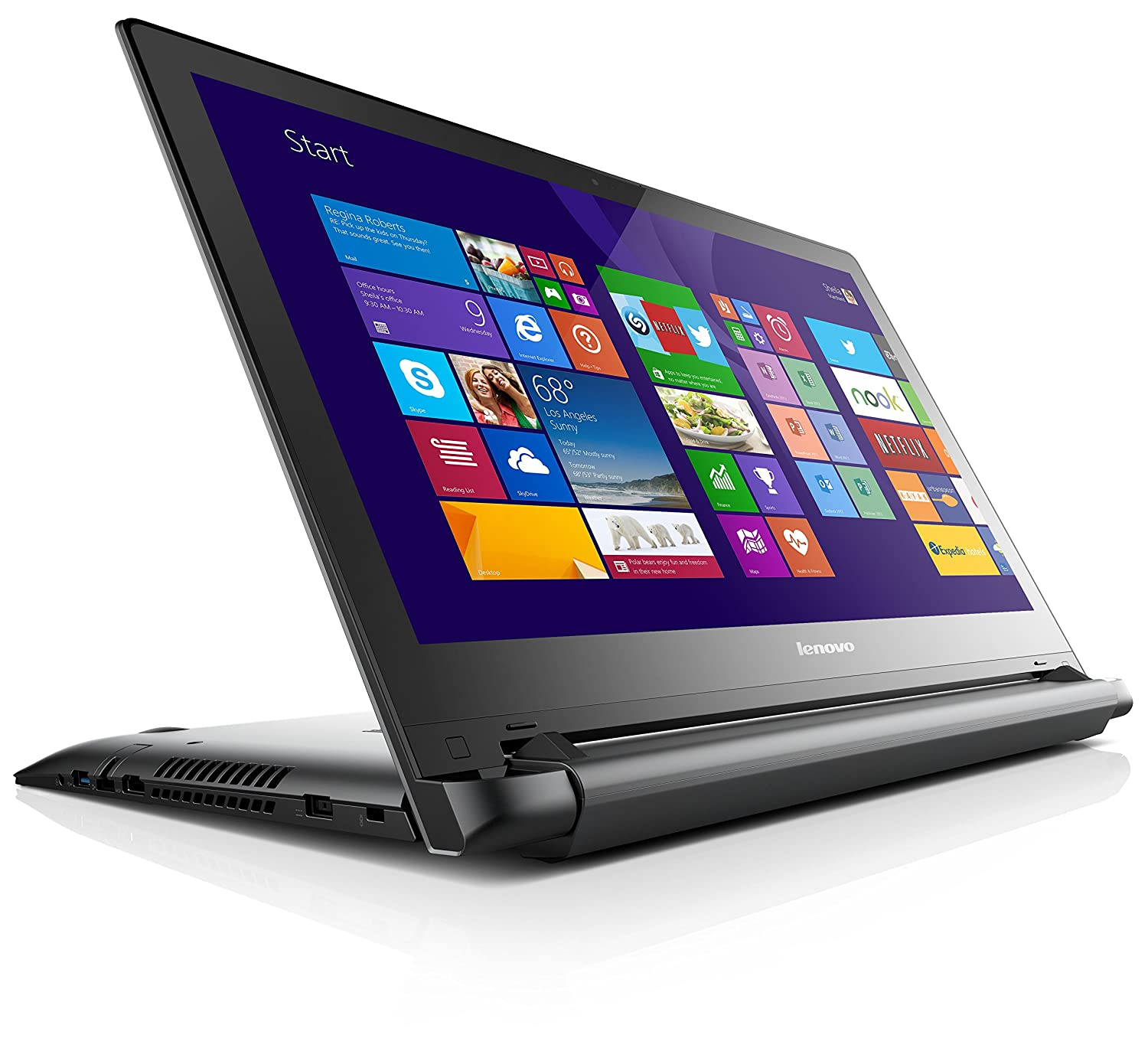 Lenovo Flex 2 Touchscreen Laptop 59418271 Black
