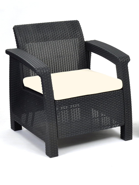Keter Lounge Sessel Corfu, grau jetzt bestellen
