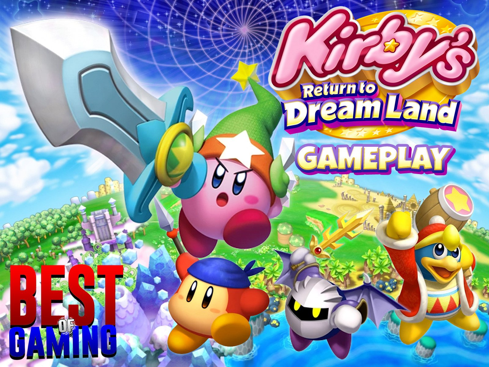 Clip: Kirby's Return To Dreamland Gameplay - Season 1