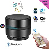 Spy Hidden Camera, ZDMYING HD 1080 Wifi Bluetooth Speaker Nanny Security Video Detector Alarm Recorder Music Cam, Motion Detection Night Vision Loop Recording,for Home/Office Support iPhone/Android/PC