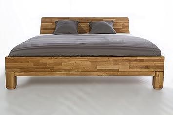 Massivholzbett Roma Doppelbett Bett Massiv Wildeiche NEU OVP alle Größen sofort Lieferbar weitere Modelle im Shop (180x200)