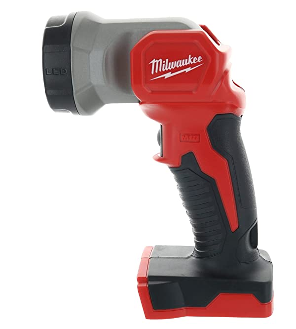 Milwaukee 2735-20 M18 18V Lithium Ion 160 Lumen LED Worklight w/ 130 Degree Adjustable Head (Batteries Not Included, Power Tool Only) (Tamaño: Pack of 1)