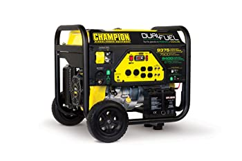 Champion Power Equipment 71531 7500 Watt Dual Fuel Portable Generator Review