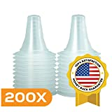 200x Ear Thermometer Probe Covers/Refill Caps/Lens Filters for All Types of Digital Thermometer/Braun ThermoScan Models