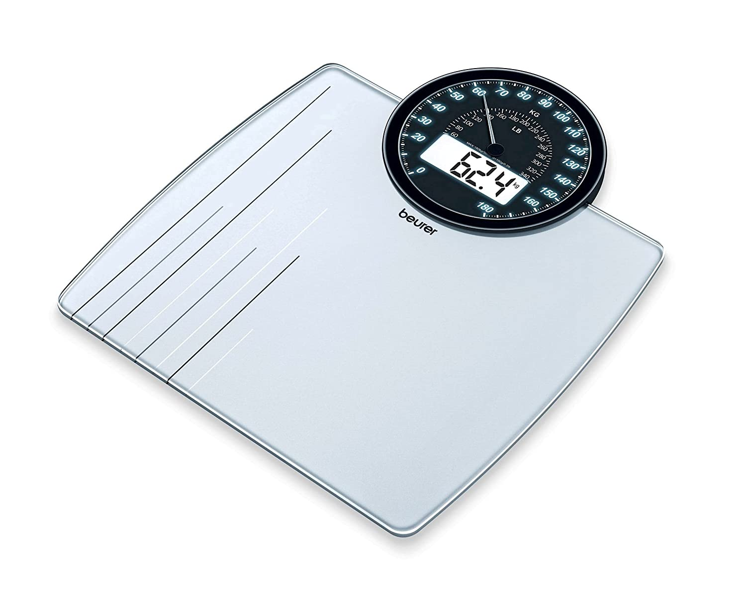 Beurer GS58 Electronic Glass Bathroom Scale
