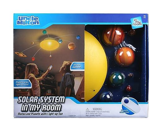 Uncle Milton - 2055 - Jeu Éducatif et Scientifique - Solar System in My Room - Système Solaire