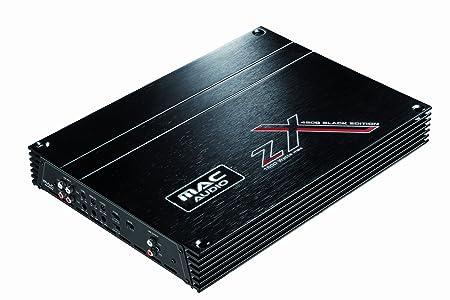 Mac Audio ZX 4500 Black Edition Amplificateur Hi-Fi auto 4 canaux 4 x 250 Watts