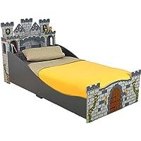 KidKraft Boy's Medieval Castle Toddler Bed