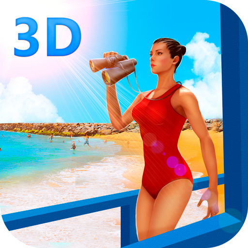 Beach Emergency Rescue Team 3D (Hot Sexy Babes compare prices)