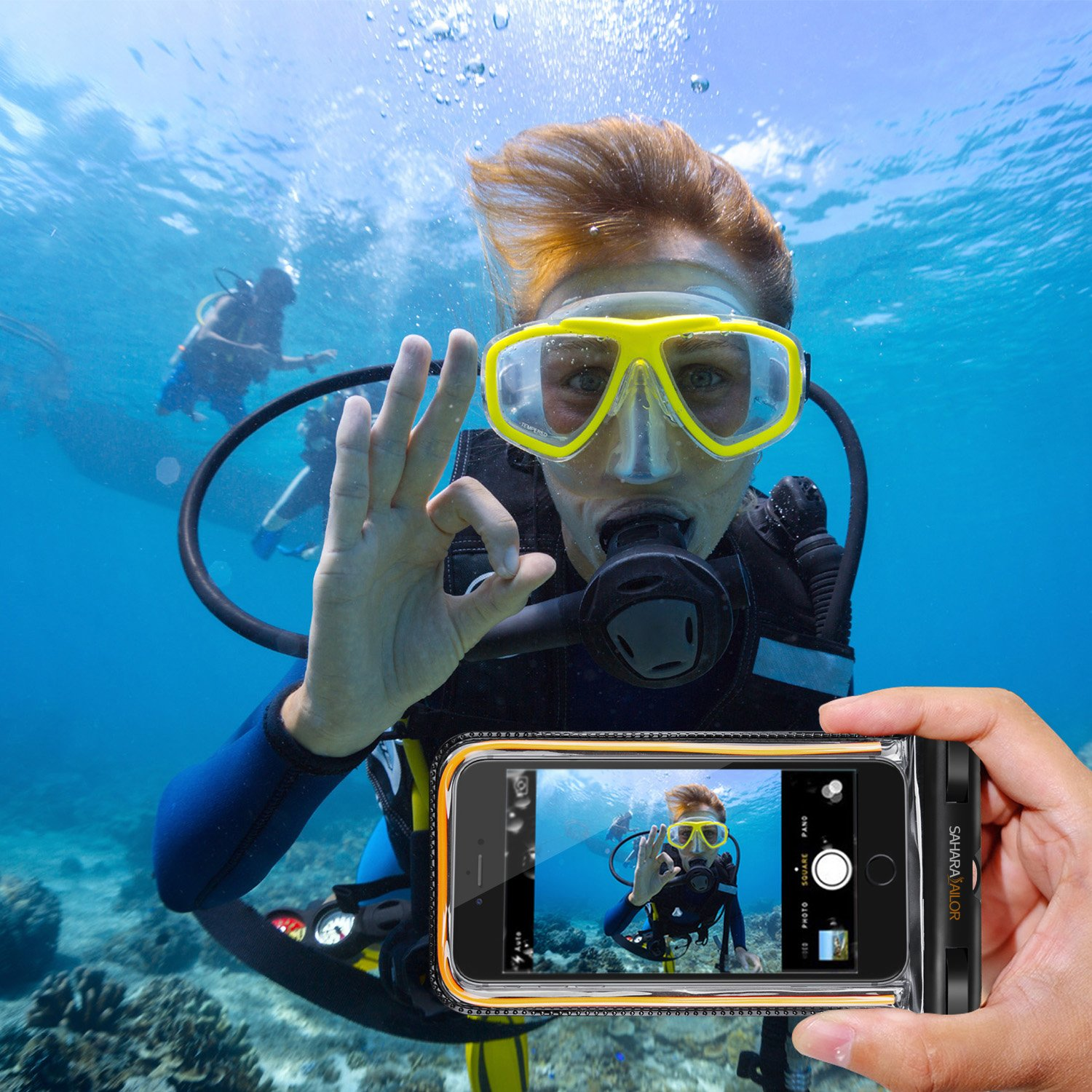 phone holder waterproof
