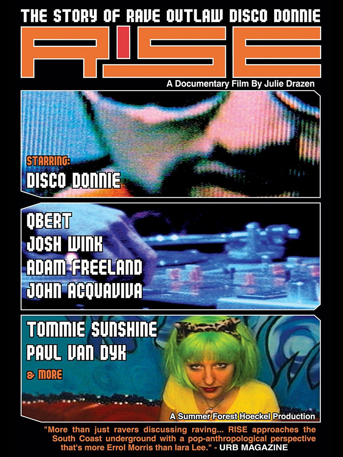 Rise: Story Of Rave Outlaw Disco Donnie on Amazon Prime Video UK