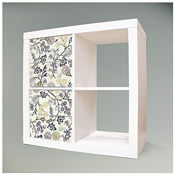 Adhesivos decorativos para muebles caja plegable para for Pintar muebles de ikea