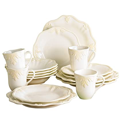 Lenox Butlers Pantry Gourmet 16-Piece Dinnerware Set by Lenox
