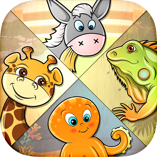 82 Kids Puzzles - Learn Animals