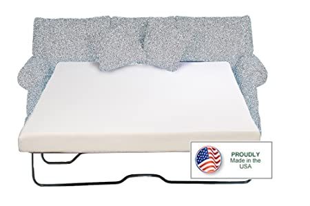 Sleeper Sofa Memory Foam Mattress Queen 60 x 72 x 4.5