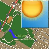 Weather Map (using Google Map)
