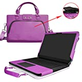 Razer Blade 14 Case,2 in 1 Accurately Designed Protective PU Leather Cover + Portable Carrying Bag for 14