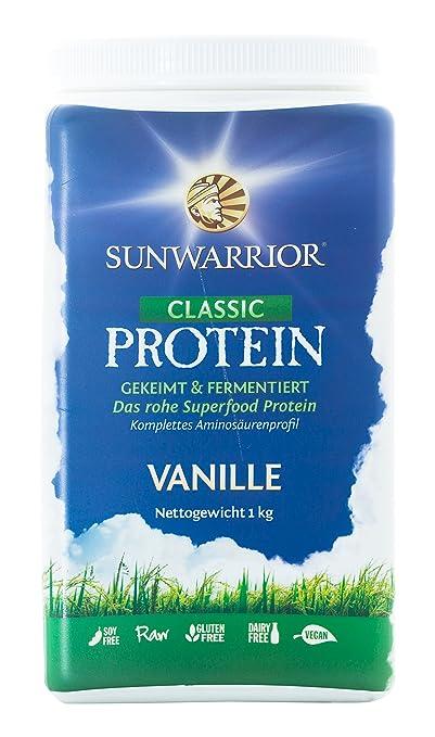 SUNWARRIOR Naturliches Reisprotein Vanille, 1er Pack (1 x 1000 g)