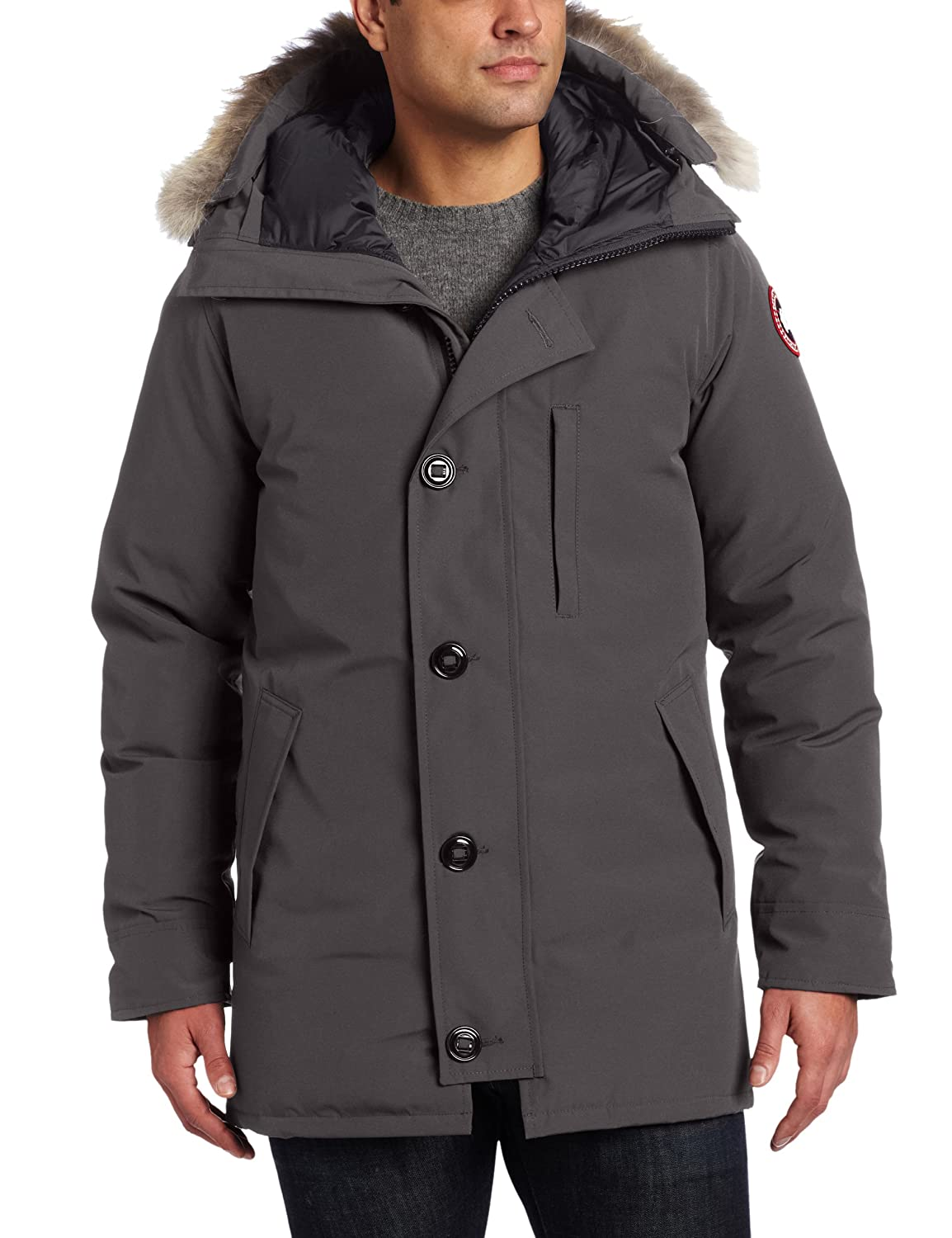 Canada Goose Men's Jackets, Parkas & Coats. Canadian outerwear manufacturer Canada Goose is a long-popular label among Arctic explorers, skiers, and mountaineers. Designed to withstand extreme cold-weather conditions, Canada Goose jackets and coats are made from high-quality materials and constructed with impeccable craftsmanship.