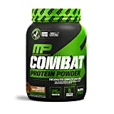 Muscle Pharm Combat Powder Advanced Time Release Protein, Chocolate Peanut Butter, 2 Pound (Tamaño: 2 Pound)