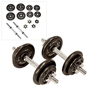 CAP Barbell 40-pound with Case