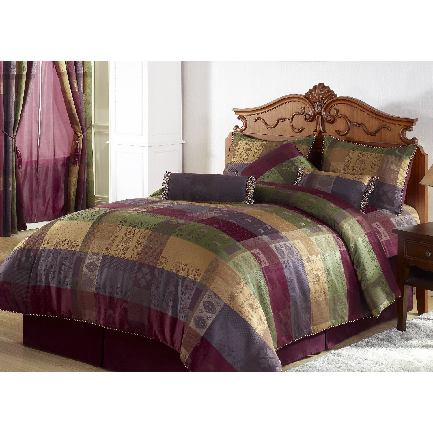 Buy Burgundy and Gold from Bed Bath Beyond