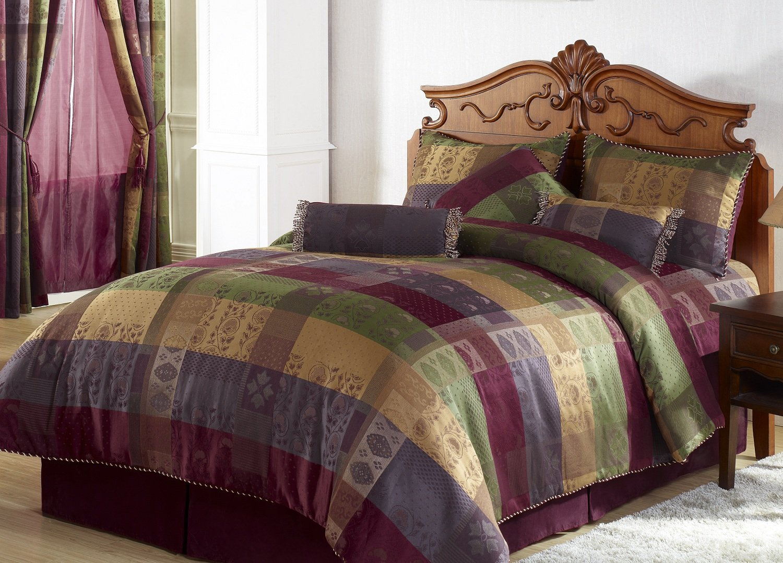 Lavender Purple And Eggplant Bedroom Design Ideas Seekyt