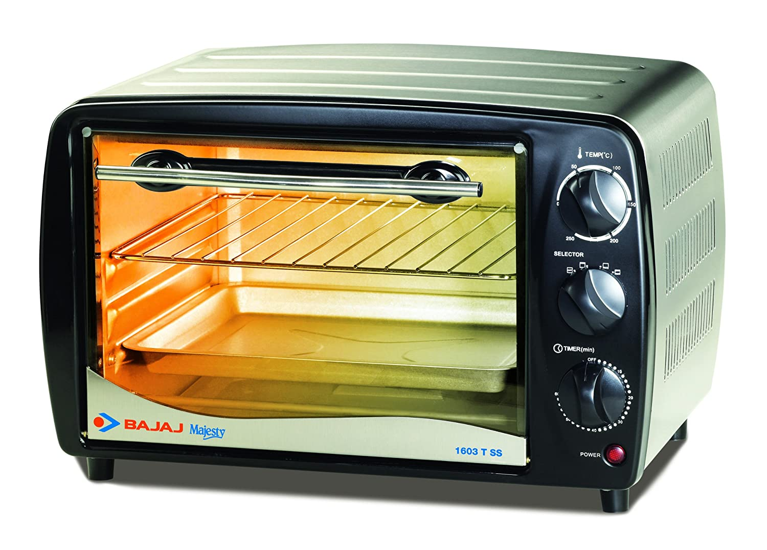 Countertop Oven Grill : Bajaj Majesty 1603 TSS Oven Toaster Grill - Hot Deals - Online Forum ...