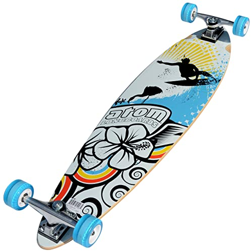 The 39 inches Atom pintail longboard