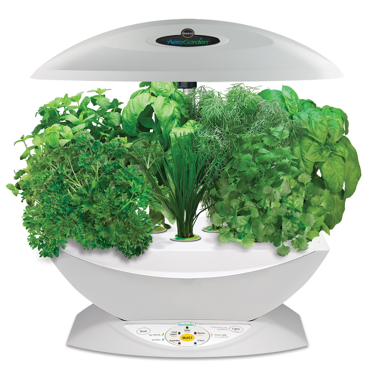 Herb Kits For Indoors: Miracle Gro Aerogarden 7 Indoor Garden With Gourmet Herb