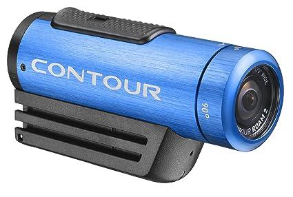 Contour ROAM 2 Caméra vidéo étanche, Toujours le plus simple appareil photo à utiliser sur le marché, Instant de verrouillage sur-enregistrement interrupteur, il est facile (Bleu) PN: 1800